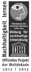 Logo_UN-Dekade_Offizielles Projekt_2012_2013_SW