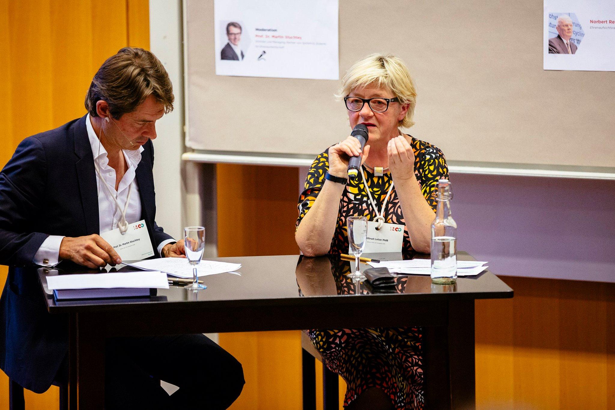 Paneldiskussion Politik