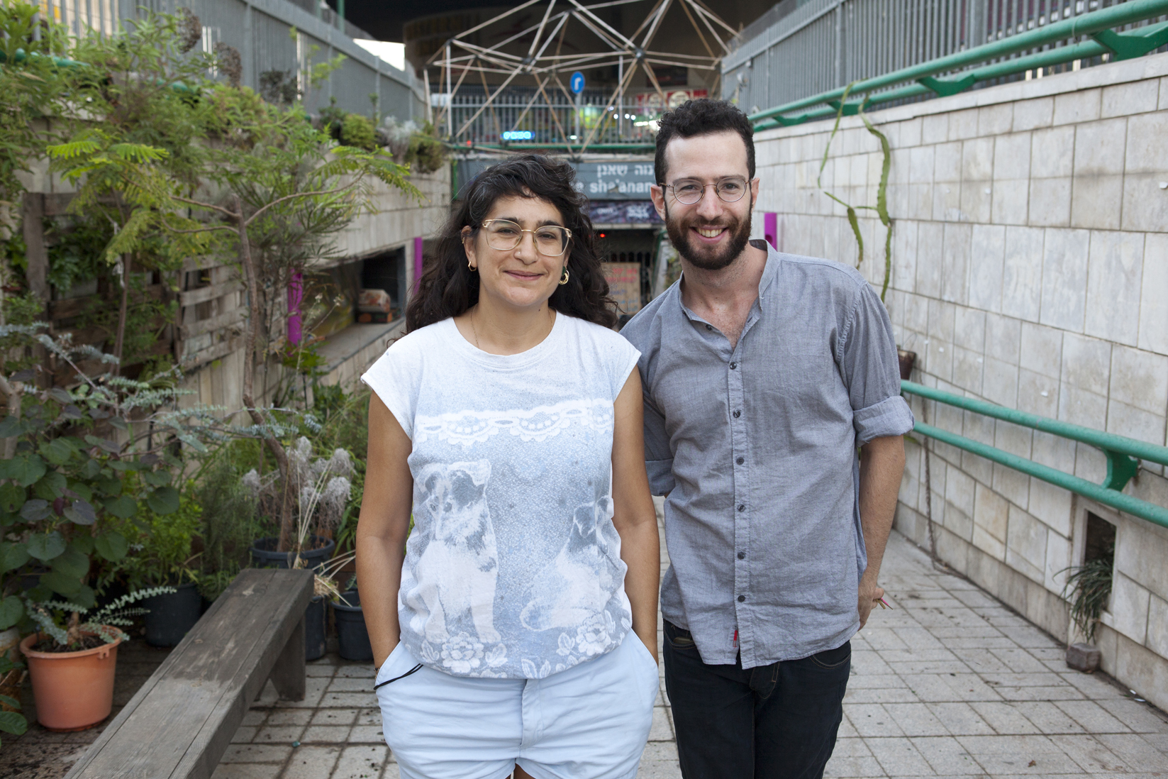 Heela Harel & Yoav Shafranek of the ONYA Collective